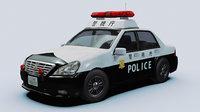 Japanese Police Vehicle