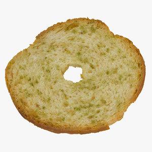bread chips roll 01 model