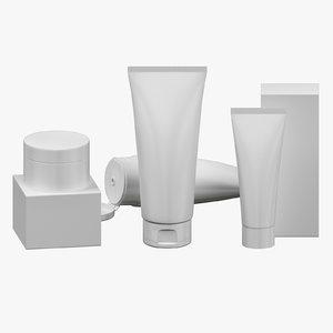 3D tubes set 03 model