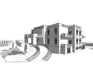 3D palace aziza fahmy