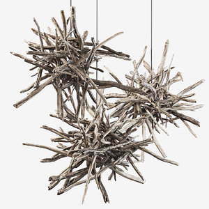 branch lamp 3D model