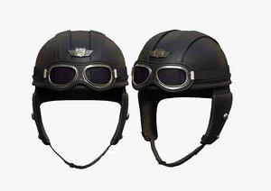 3D model helmet sci
