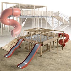 3D model complex s play