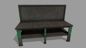 workbench bench 3D