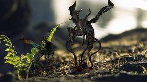 3D alien insect