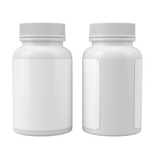 medical bottle 3D model