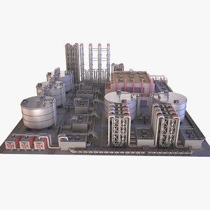 3D model industry 01