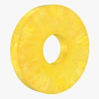 Round Pineapple Slice