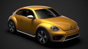 3D beetle dune 2020