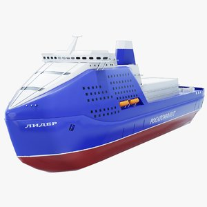 3D leader icebreakers model