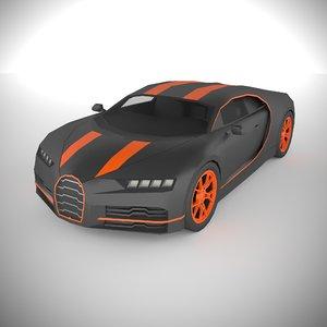 3D polycar n95 lp1 cars