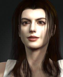 3D women character design actor