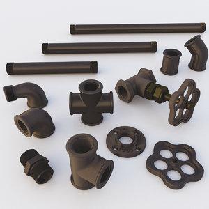 set pipe 3D