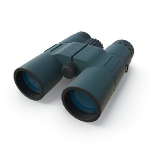 military binocular pbr 3D model