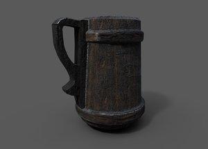 old tankard 3D model