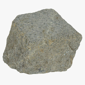 cobblestone 01 raw scan 3D model