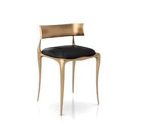 aria chair bronze 3D model