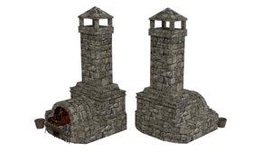 blacksmith forge 3D