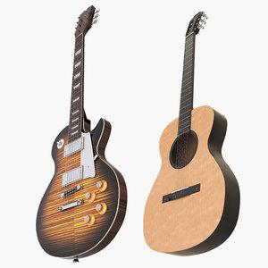 guitars 2 3D model