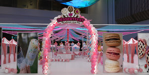 carnival dessert design 3D