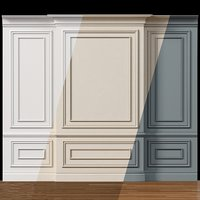 Wall molding 4. Boiserie classic panels