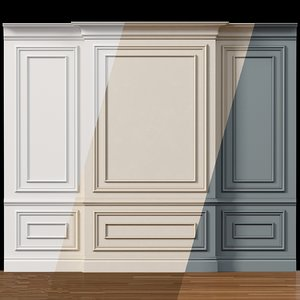 3D wall molding 4