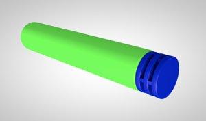 3D adult bullets model
