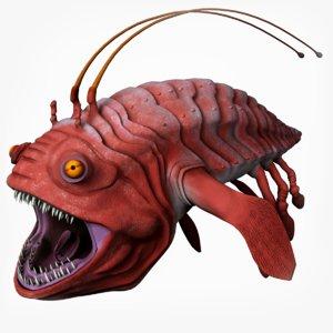 3D opee sea killer model