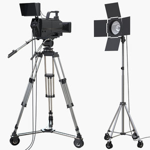 tv studio camera light model
