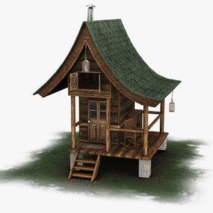 3D model ready cabin