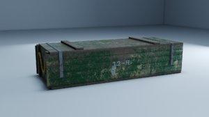 3D crate pbr games