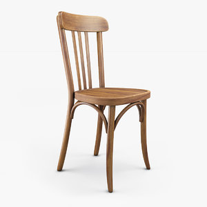 old bistrot chair 3D model