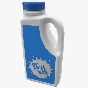 3D milk container