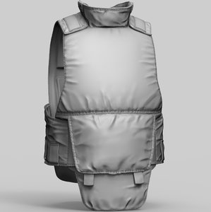 russian body armor 6b23 3D