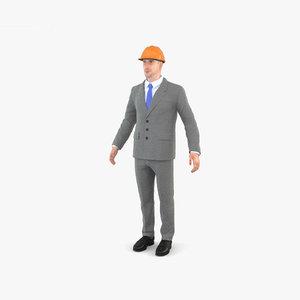 3D architect person human