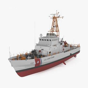 3D island-class island class model