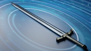 sword odin 3D model