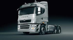 3D truck heavy car model