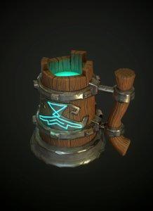 mug games 3D model