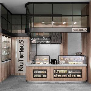 design cafes restaurants 3D
