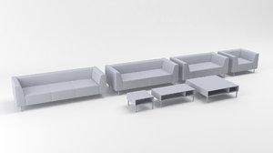 tara deberenn sofa 3D model