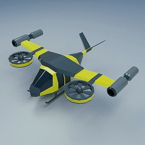 3D flying vehicle concept