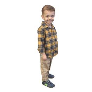 3D 2 kid standing