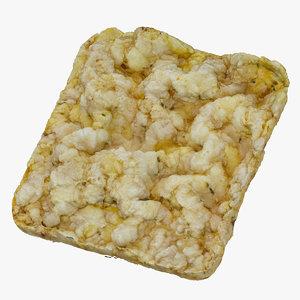 3D corn cake square 01