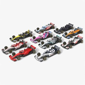formula 1 season 2020 3D