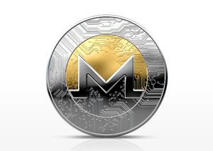 3D monero coin model