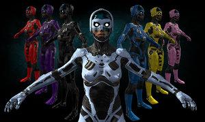 3D robot cyber