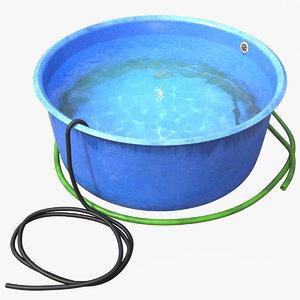 fish tub 3D
