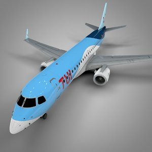 tui airlines embraer190 l641 3D