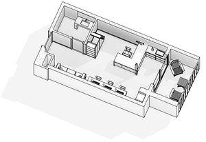 3D design studio model